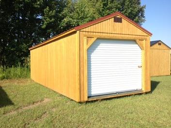 Sheds asheboro nc north carolina storage buildings for 14x8 garage door